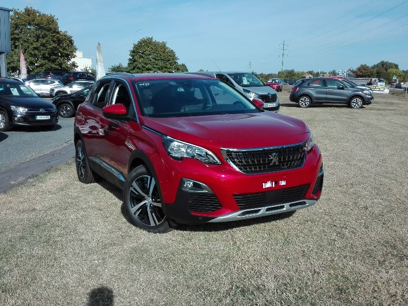Photo 2 de l'offre de PEUGEOT 3008 2.0 BLUEHDI 180CH €6.C GT S&S EAT8 à 35490€ chez Willy Mathey automobiles