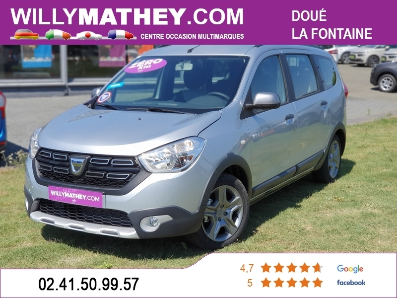 Photo 1 de l'offre de DACIA LODGY 1.5 BLUE DCI 115CH STEPWAY 7 PLACES à 17990€ chez Willy Mathey automobiles