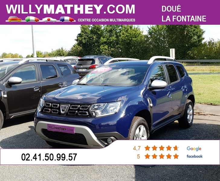 Photo 1 de l'offre de DACIA DUSTER 1.5 BLUE DCI 115CH PRESTIGE 4X2 à 19790€ chez Willy Mathey automobiles