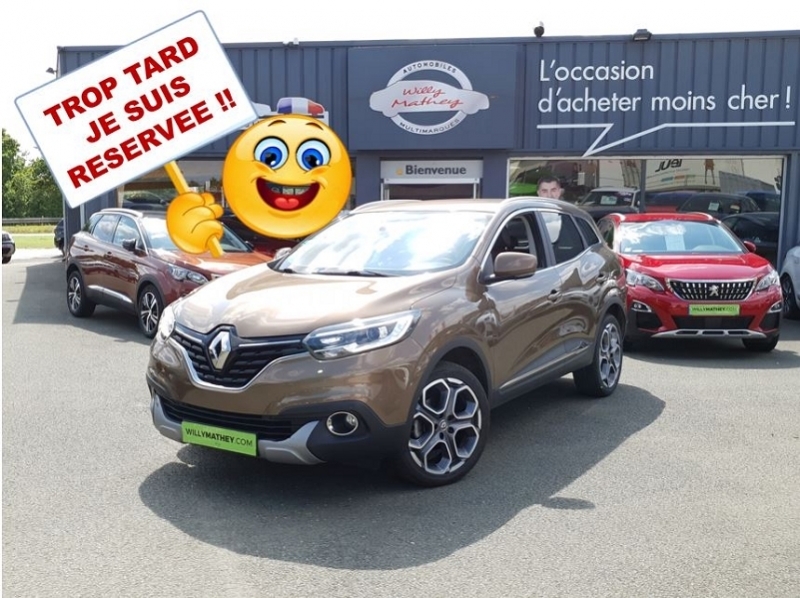 Renault KADJAR 1.6 DCI 130CH ENERGY EDITION ONE Diesel BRUN CAPUCCINO Occasion à vendre