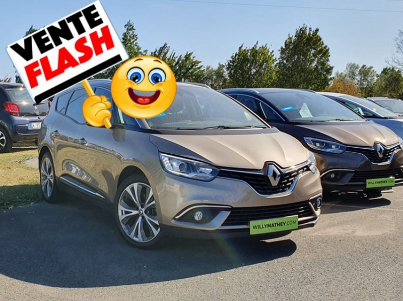 Photo 1 de l'offre de RENAULT GRAND SCENIC IV 1.5 DCI 110CH ENERGY INTENS à 19990€ chez Willy Mathey automobiles