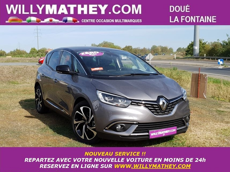 Renault SCENIC IV 1.7 BLUE DCI 120CH INTENS EDC Diesel GRIS CASSIOPEE Neuf à vendre