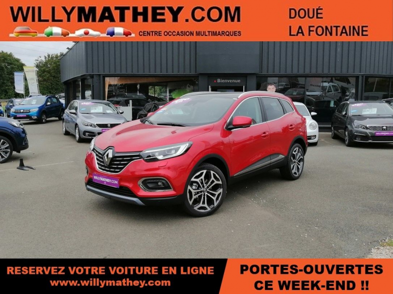 Photo 1 de l'offre de RENAULT KADJAR 1.5 BLUE DCI 115CH INTENS EDC à 25990€ chez Willy Mathey automobiles