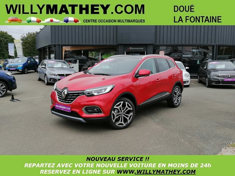 Photo 24 de l'offre de RENAULT KADJAR 1.5 BLUE DCI 115CH INTENS EDC à 25990€ chez Willy Mathey automobiles